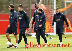 Champions League -Manchester United Training